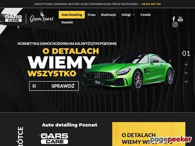 CarsCare.pl - studio autodetalingu