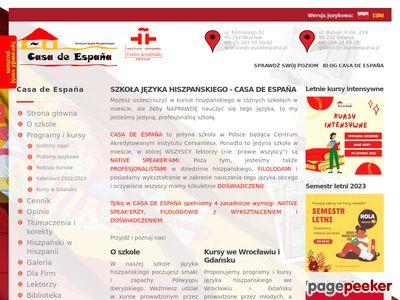 Nauka języka Hiszpańskiego we Wrocławiu