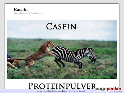 Kasein (casein) Protein Fakta - http://www.casein.n.nu