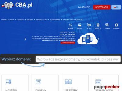 Hosting cba.pl