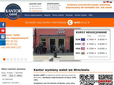 Cent - kantory Wrocław