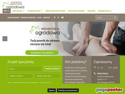 Stomatolog centrumogrodowa.pl