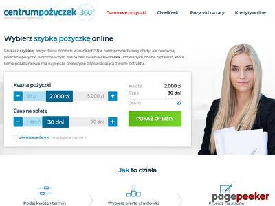 Szybkie pożyczki - centrumpozyczek360.pl