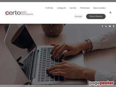 Biuro rachunkowe Warszawa cennik