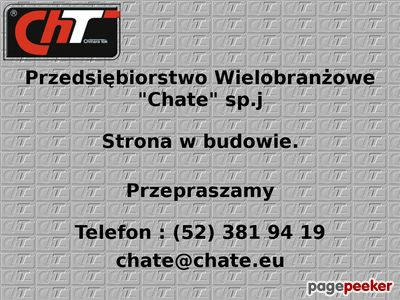 Metalizacja - www.chate.com.pl