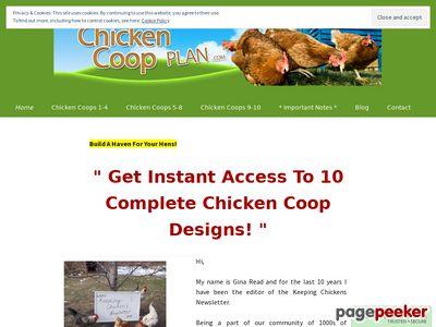 Build Your Own Chicken Coop - 10 complete chicken coop designs with materials list