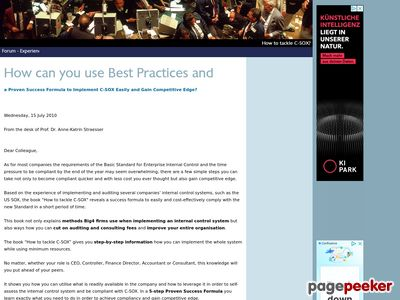 How can you use Best Practices and