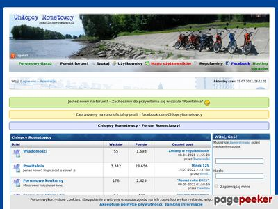 Forum ROMET www.chlopcyrometowcy.pl