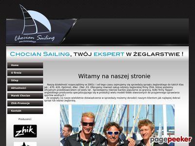 Osprzęt żeglarski www.chociansailing.pl