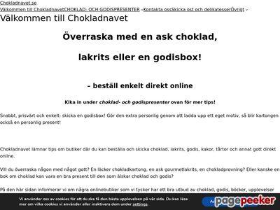 chokladnavet.se - http://www.chokladnavet.se