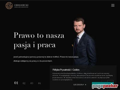 Kancelaria prawna - Mateusz Chołodecki