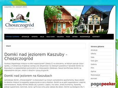 ChoszczoGrod - Domki letniskowe nad jeziorem
