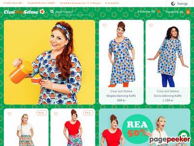 Skärmdump av cissiochselma.se
