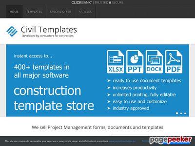 Civil Engineering Templates – Civil Engineering Document Templates