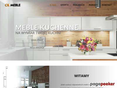 CK-Meble: meble kuchenne na wymiar