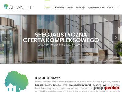 Mycie okien, renowacja kostki brukowej, impregnacja Cleanbet - Częstochowa