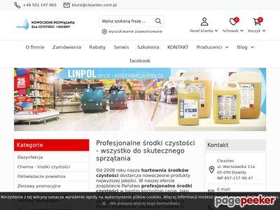 CLEANTEC technologie mycia i czyszczenia