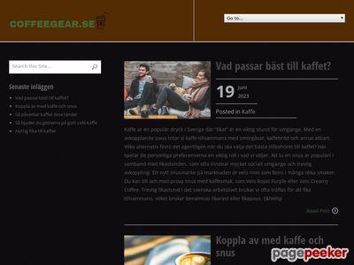 Http://www.coffeegear.se/ - http://www.coffeegear.se