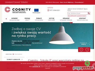 Cognity Szkolenia w Krakowie