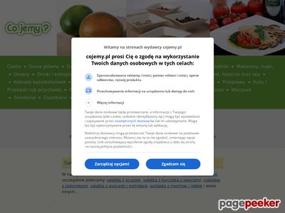 Przepisy kulinarne: sałatki, przetwory i inne.