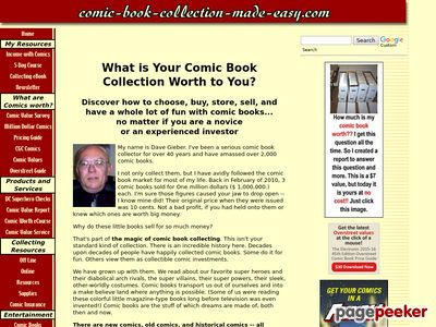 Comic Book Collection – The Ebook!