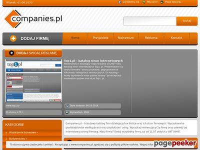 Katalog firmowy Companies.pl