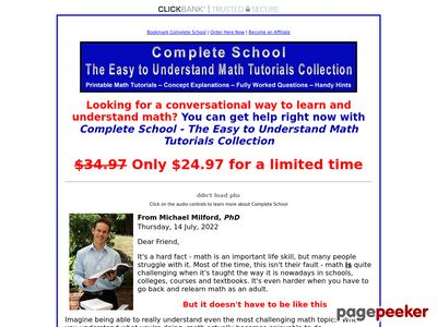 Complete School – The Easy to Understand Math Tutorials Collection