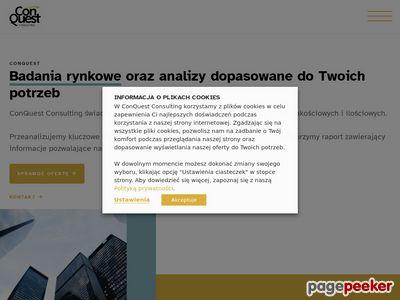 ConQuest Consulting - doradztwo transakcyjne - Warszawa, ul. Opoczyńska 10⁄1
