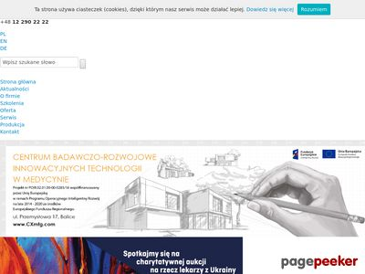 Consultronix S.A. - Lasery medyczne, RTG, diagnostyczne - Consultronix S.A.