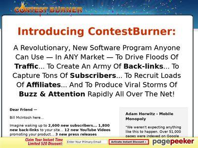Viral Marketing – Contest Burner Online Contest Software