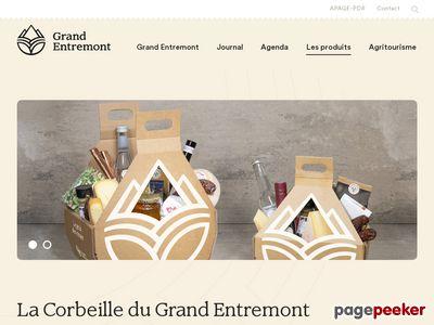 Corbeille d'Entremont - A visiter!