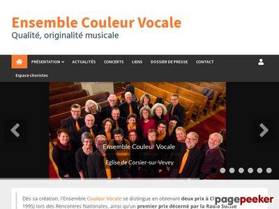 Ensemble Couleur Vocale (Corsier-sur-Vevey) - A visiter!