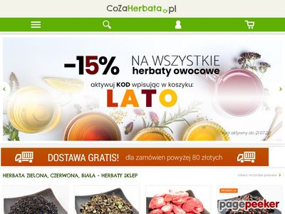 CoZaHerbata.pl - sklep z herbatami