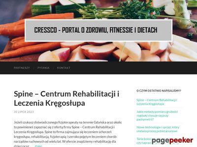 Cressco - portal o zdrowiu, fitnessie i dietach
