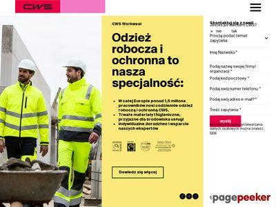 CWS-Boco Polska -Odzież robocza
