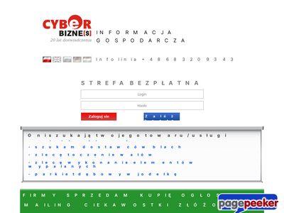Www.cyberbiznes.pl oferty kupna