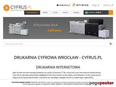 Druk cyfrowy Wrocław