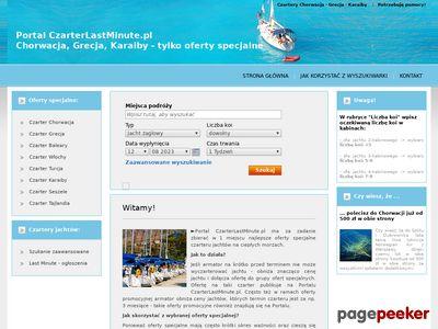 Czarter jachtów Chorwacja