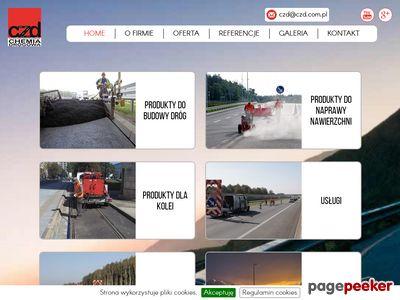 Remonty i naprawy dróg - Centrum Zaopatrzenia Drogownictwa