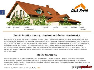 Materiały do remontu dachu - Dach Profil