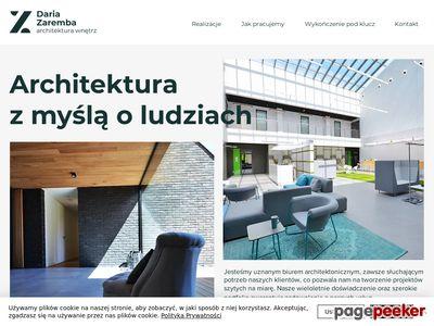 Projektowanie, architektura wnętrz Daria Zaremba