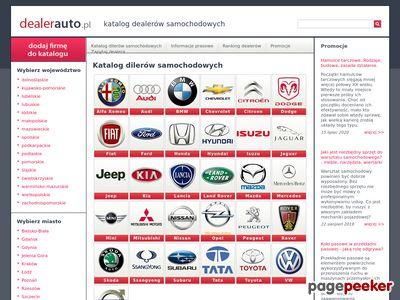 Baza dealerów samochodowych - DealerAuto.pl