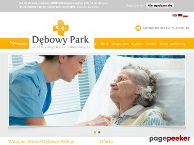 Rehabilitacja osób starszych - www.debowy-park.pl