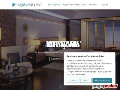 Architekci wnętrz - debski projekt warszawa