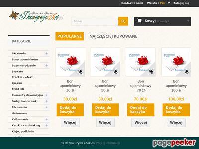 Decoupage Art.pl sklep