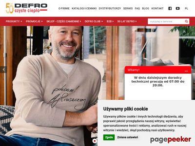 Technika grzewcza - defro.pl