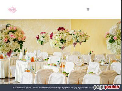 Dekoracje weselne Toruń