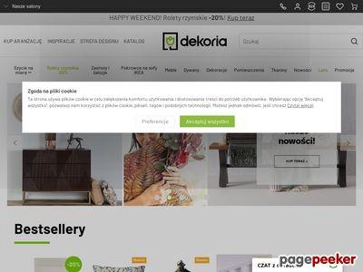 Zasłony firany sklep internetowy – www.dekoria.pl