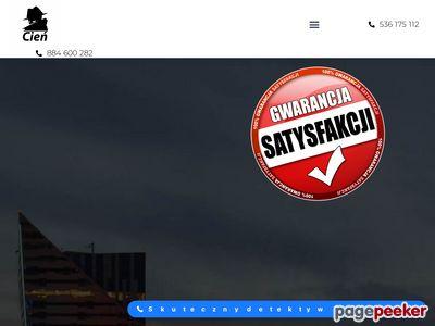 Biuro Detektywistyczne CIEŃ