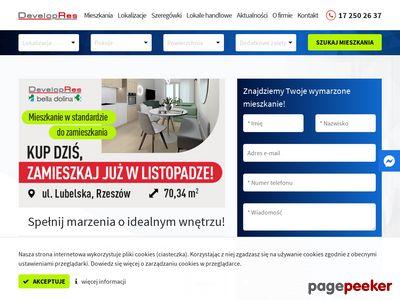 Mieszkania Rzeszów - DevelopRes - Tanie, komfortowe mieszkania w doskonałej lokalizacji.